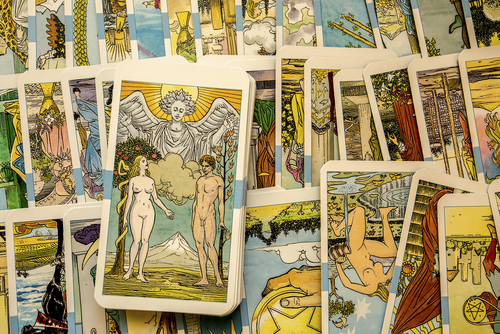 Learning Tarot, Lenormand or  Palmistry