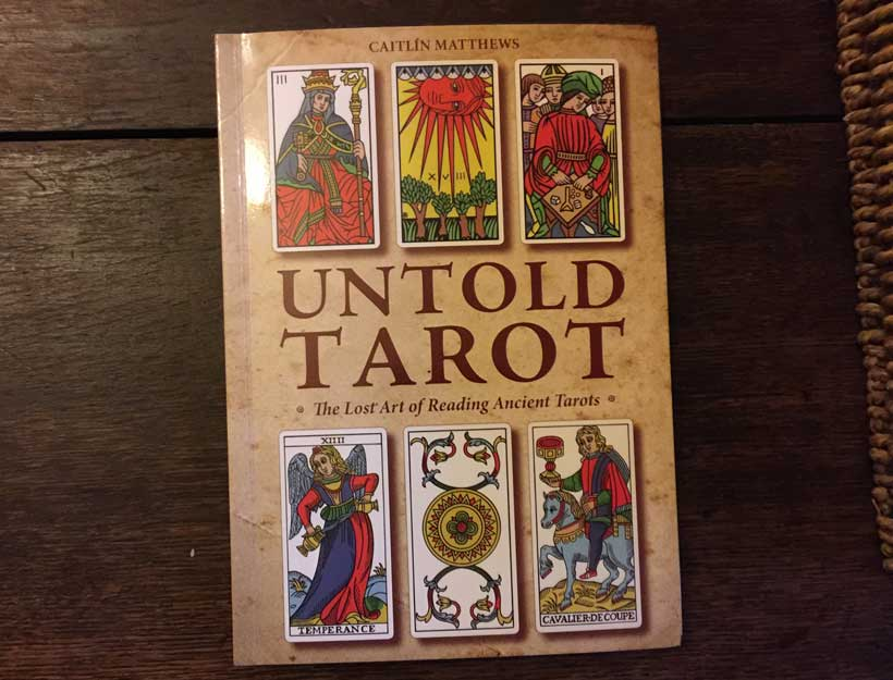 Book Review: Untold Tarot by Caitlín Matthews